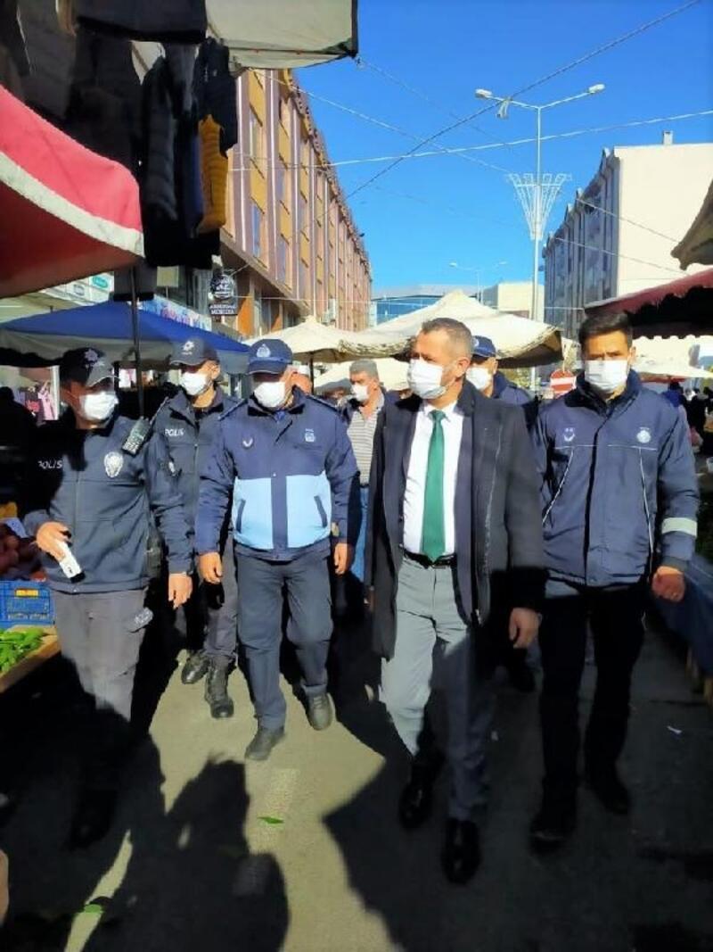 Süleymanpaşa'da salgın denetimleri sıkılaştırıldı