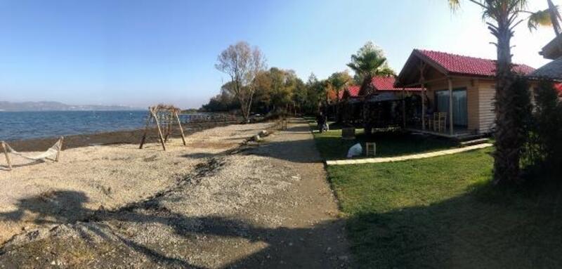 Sapanca'da tatil köyü inşa ettiler