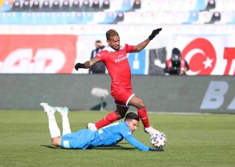 Büyükşehir Belediye Erzurumspor - Fraport TAV Antalyaspor: 2-2