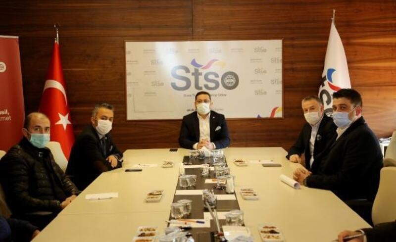 STSO Başkanı Eken, 24'üncü komiteyle buluştu