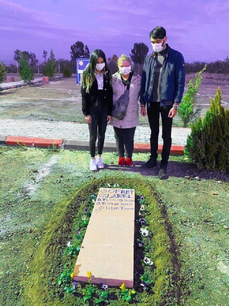 Can Dostlar Ebedi Mezarlığı'nda ilk defin yapıldı