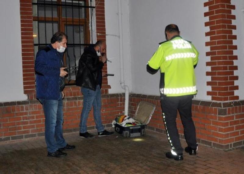 Şüpheli valiz tutuklanan kişiye ait çıktı