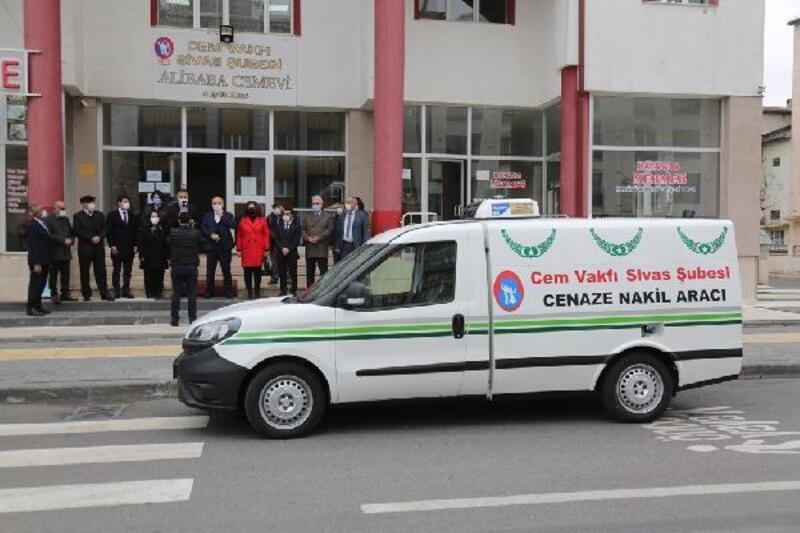 Belediyeden Cem Vakfı'na cenaze nakil aracı
