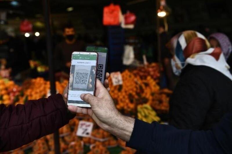 Osmangazi'de pazarcıya HES kodu, vatandaşa sınırlı giriş