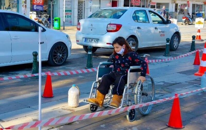 Engelliler için farkındalık etkinliği