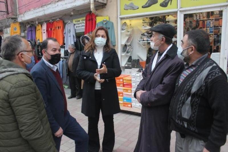 CHP'li Köksal'dan Bolvadin'de ziyaretler