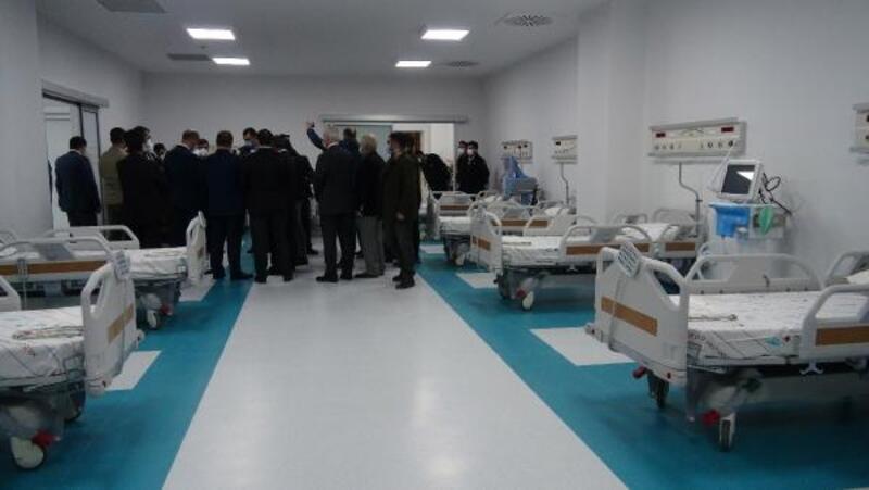 Kilis Devlet hastanesine ek yoğun bakım servisi