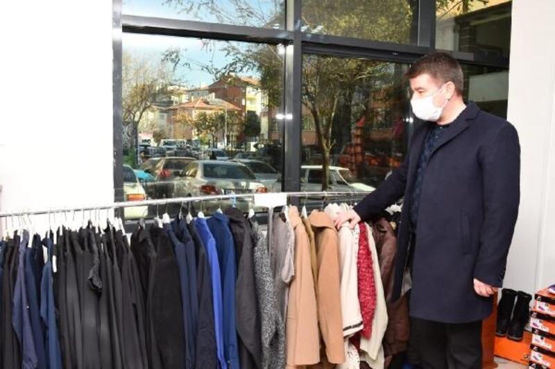 Aksaray Belediyesi'den ihtiyaç sahiplerine giysi yardımı