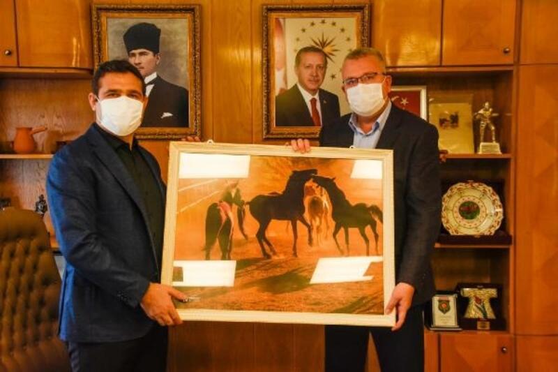 Karacabey Belediye Başkanı Özkan, Karayolları ve DSİ'yİ ziyaret etti