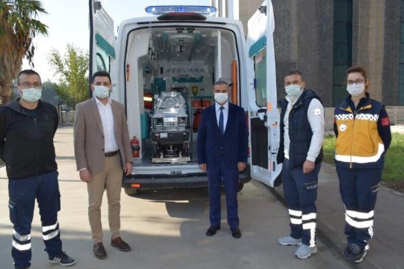 Osmaniye'nin ilk 'yeni doğan ambulansı' hizmette