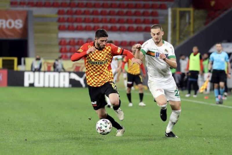 Göztepe - Aytemiz Alanyaspor: 1-0