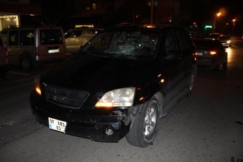 Manavgat'ta kaza: 1 yaralı