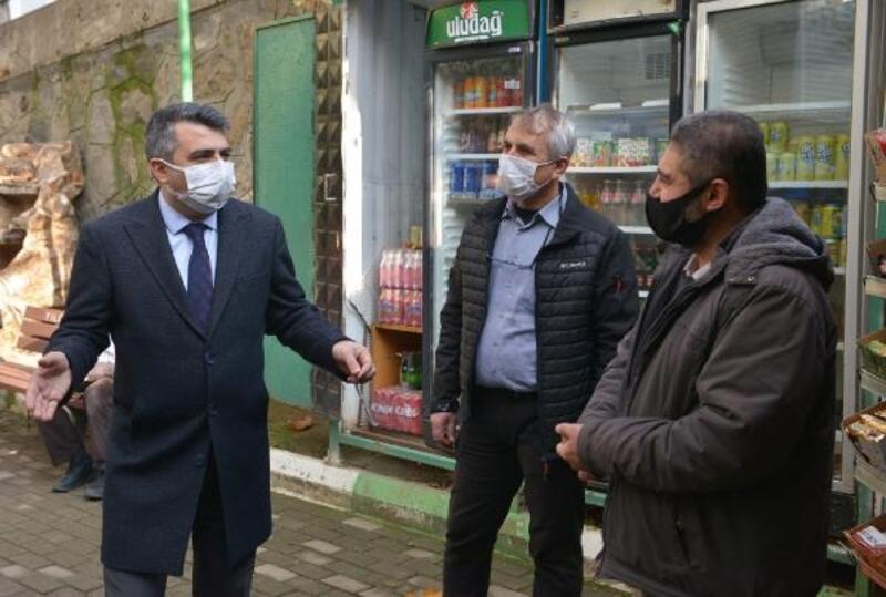 Yıldırım Belediye Başkanı Yılmaz'dan esnaf ziyareti