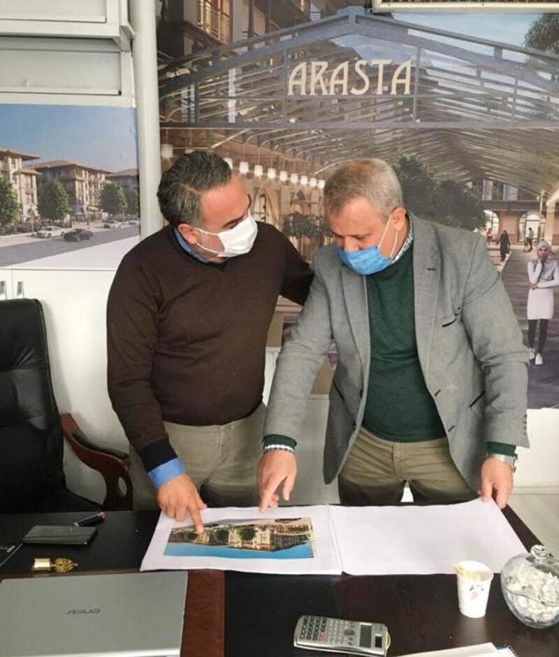 Arasta Projesi esnafa anlatılıyor