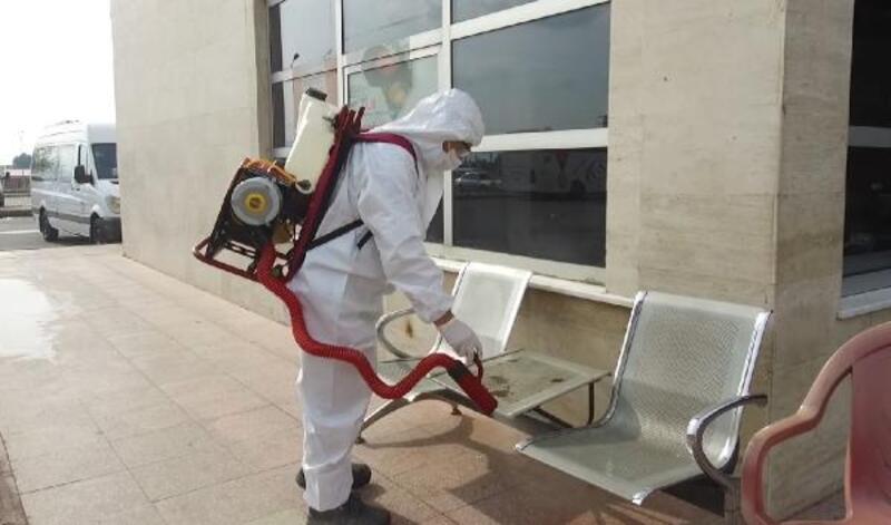 Kahramanmaraş'ta ekiplerden dezenfekte çalışması