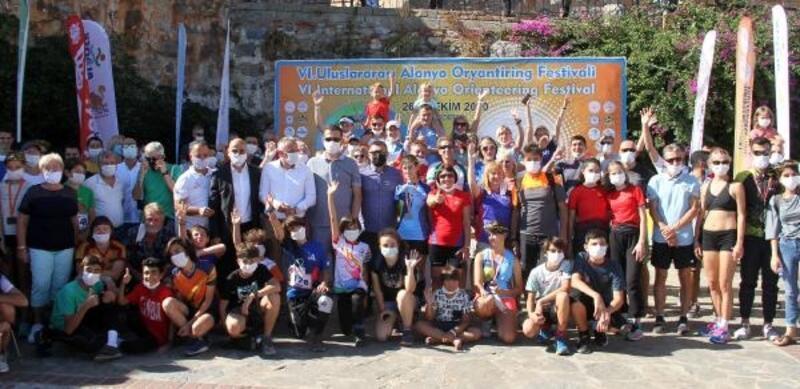 Uluslararası Alanya Oryantiring Festivali sona erdi