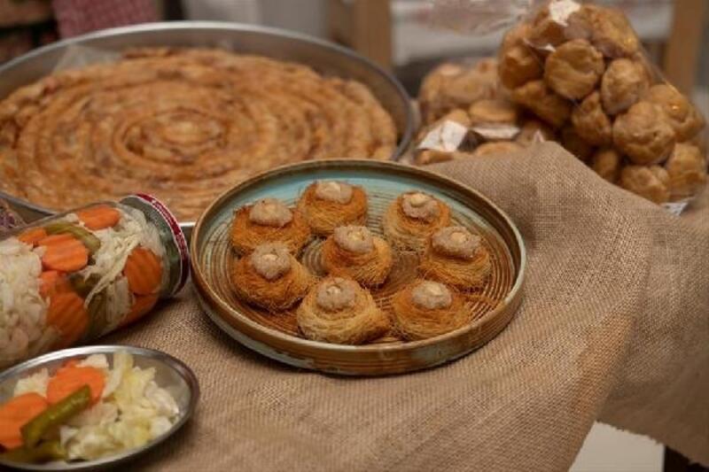 İnesmek Mutfağı'nın lezzetleri evlere servise başladı