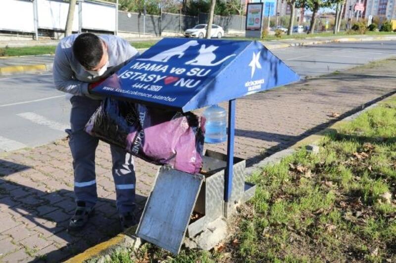 Küçükçekmece Belediyesi, yasaklarda sokaktaki hayvanları unutmuyor