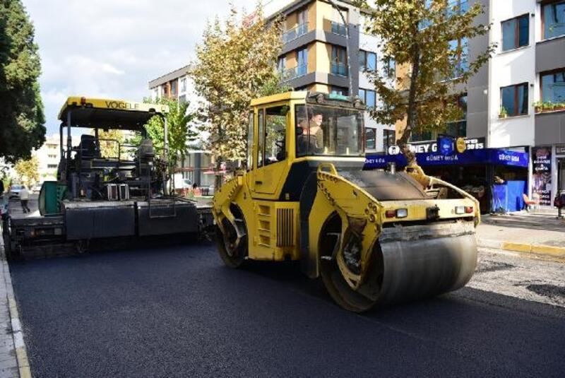 Tuzla'da 2020 yılında 25 bin 880 ton asfalt serildi