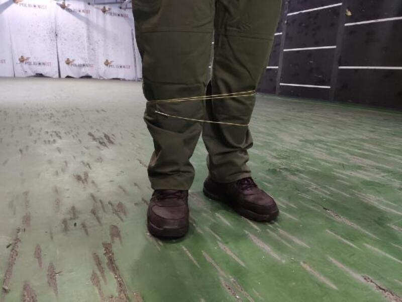 Uzaktan kelepçeleme cihazı Türkiye'de; 8 metre mesafeden hedefi etkisiz hale getiriyor