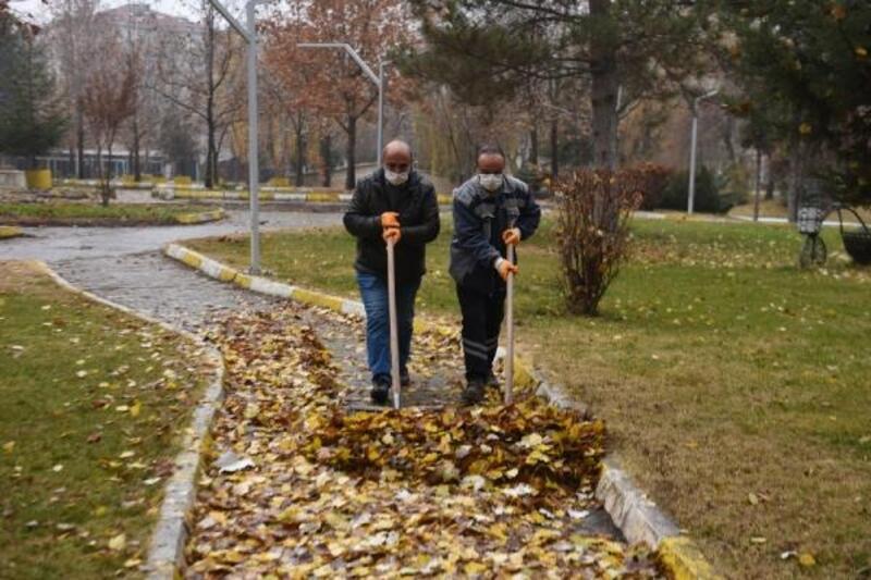 Turhal'da gazel temizliği yapılıyor