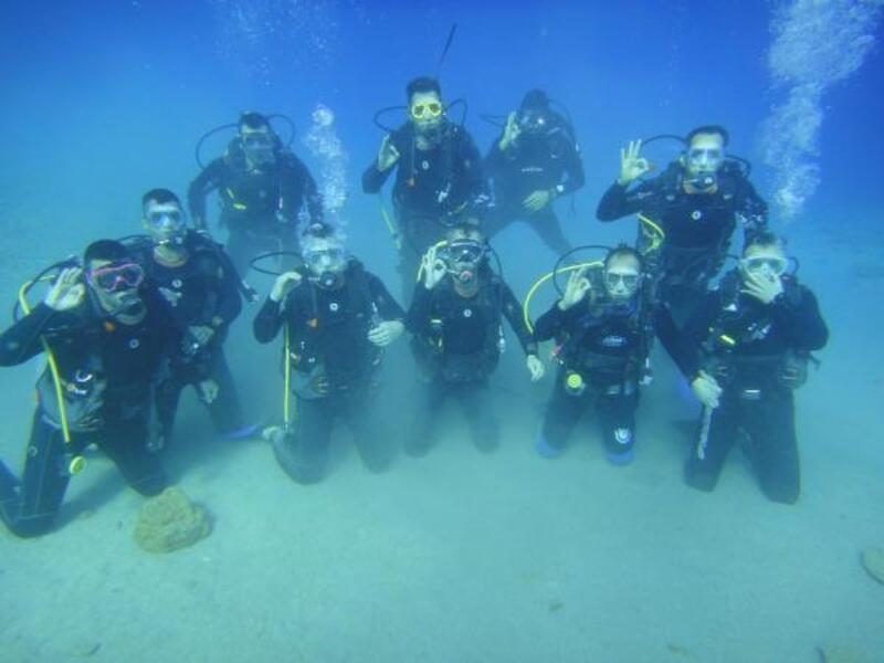 Kayseri'de itfaiyecilere dalış eğitimi