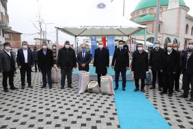 Bursa Büyükşehir Belediyesi'nde çiftçiye ücretsiz tohum desteği