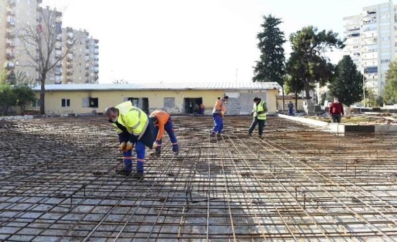 Muratpaşa'da 6'ncı kreşin inşaatı başladı