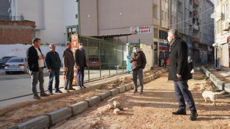 Lüleburgaz Belediye Başkanı Gerenli, çalışmaları inceledi