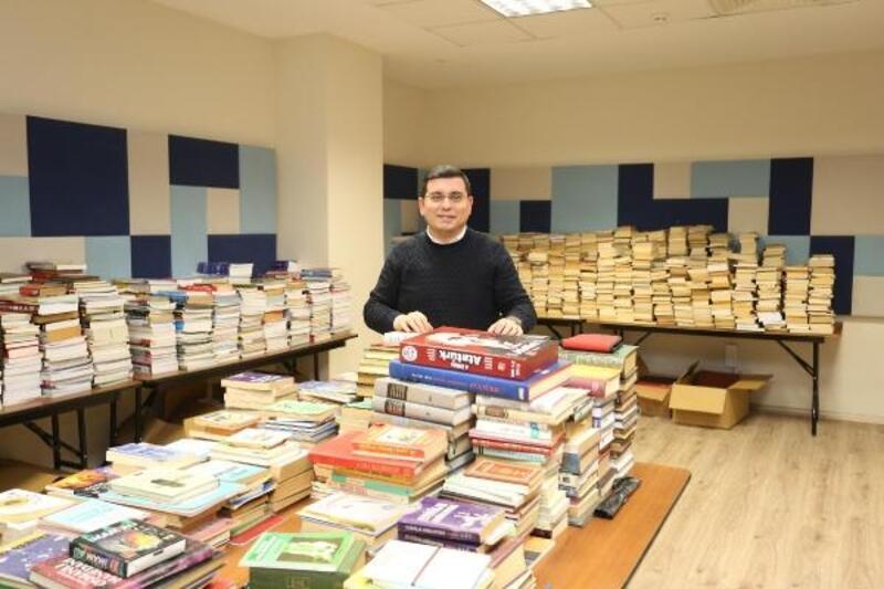 Cemil Meriç Kitaplığı'na rekor kitap bağışı