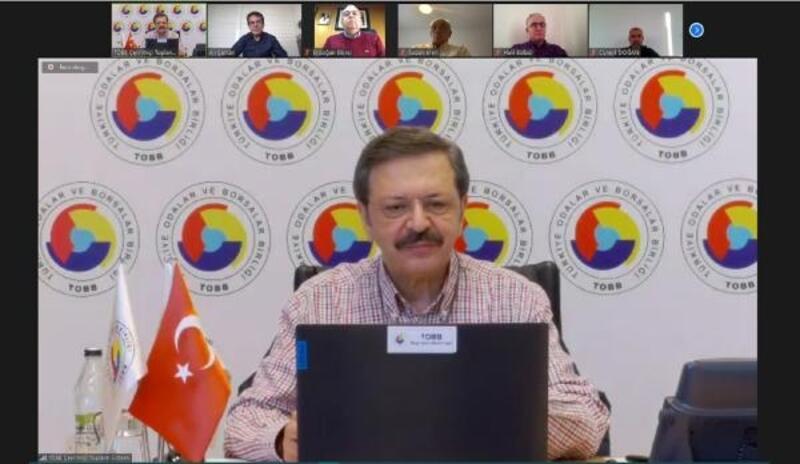 TOBB Başkanı Hisarcıklıoğlu moral verdi