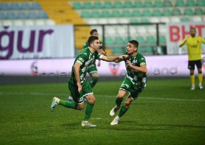 Yorgun Bursaspor, maçın son bölümünde açıldı