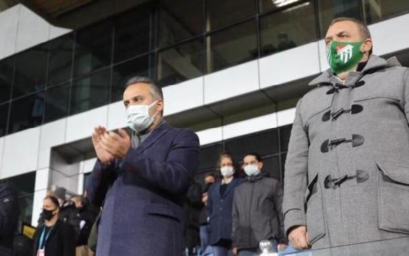 Başkan Aktaş, Bursasporlu oyuncuları tebrik etti