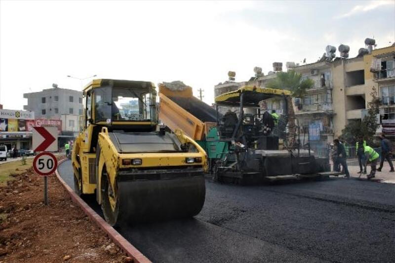 Mersin'de yollar yenileniyor