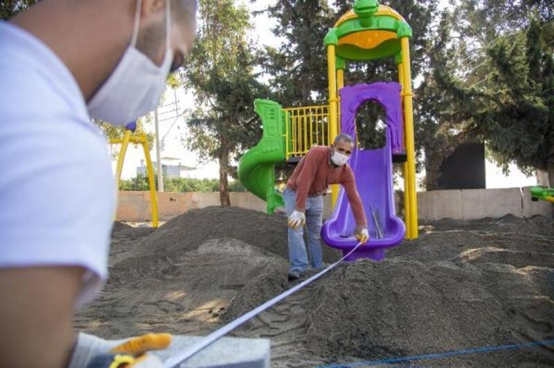 Mersin'de 50 mahalleye oyun parkları kuruluyor