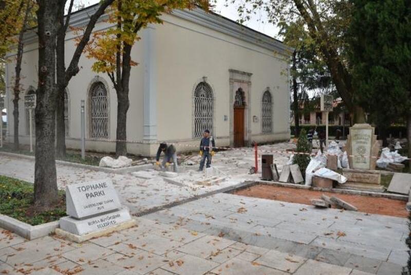Bursa Tophane'nin çehresi değişiyor