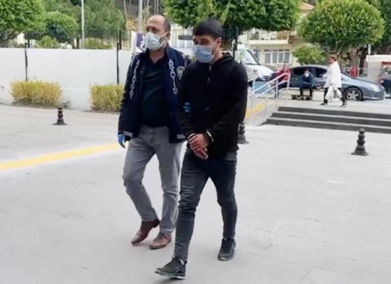 Motosiklet hırsızına kısıtlama ihlali ve maske takmama cezası