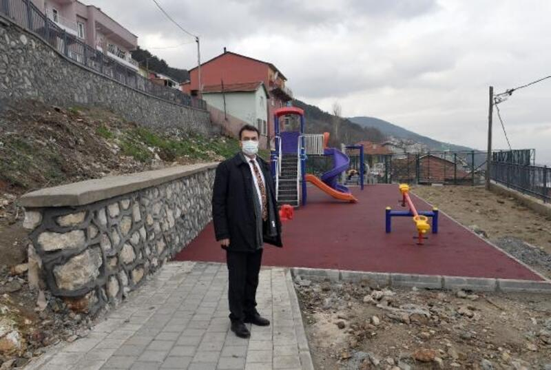 Osmangazi Belediyesi'nden Uludağ yamaçlarına çocuk parkı