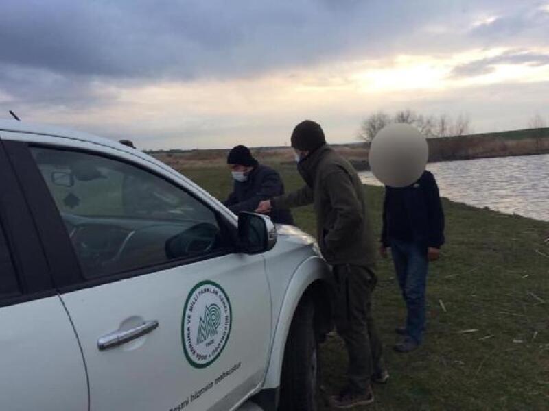 Edirne'de kısıtlamayı ihlal eden avcılara para cezası