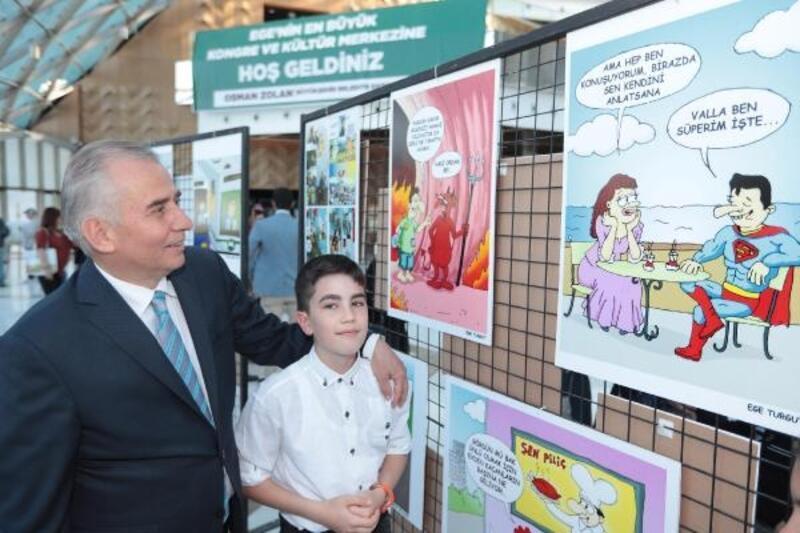 Denizli'de karikatür yarışması uluslararası düzeye taşındı