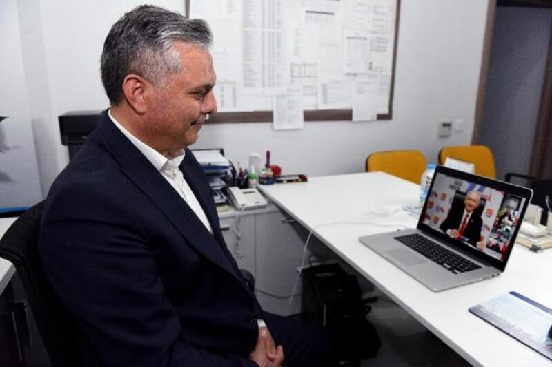 Kılıçdaroğlu ile online görüşme