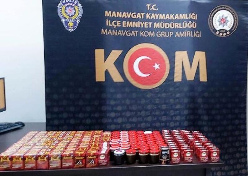 Polisten cinsel içerikli ilaç operasyonu