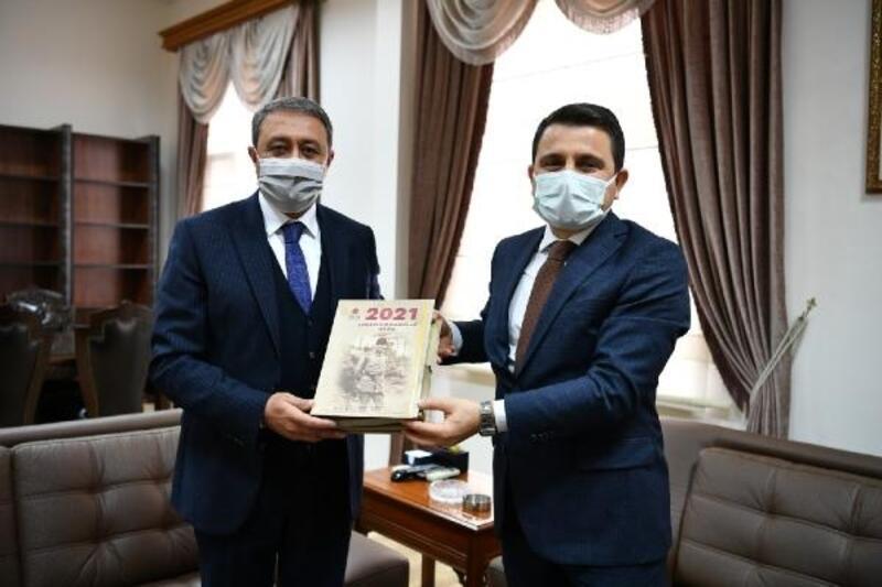 Alan Başkanı Kaşdemir'den Vali Şıldak ve Başkan Yılmaz'a ziyaret