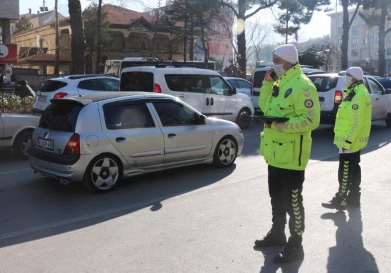 Isparta'da 2020'de trafik kazası yüzde 21 azaldı