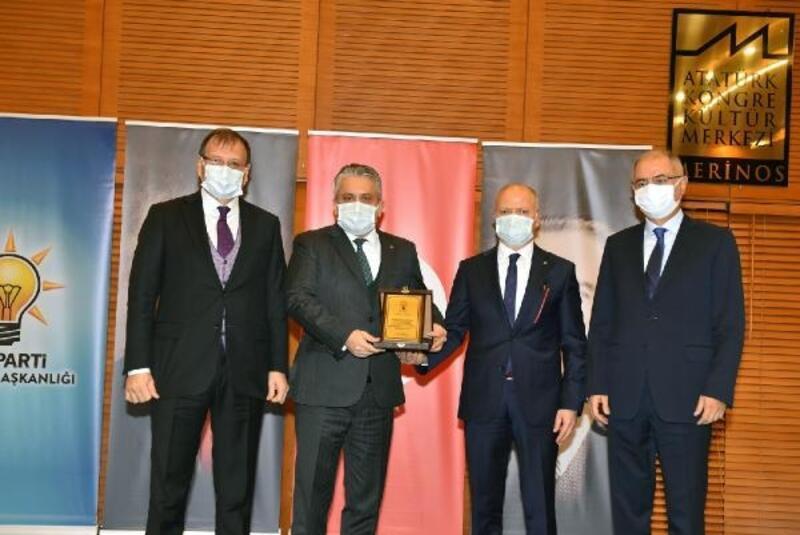 AK Parti Bursa İl Başkanlığı'nda devir teslim töreni
