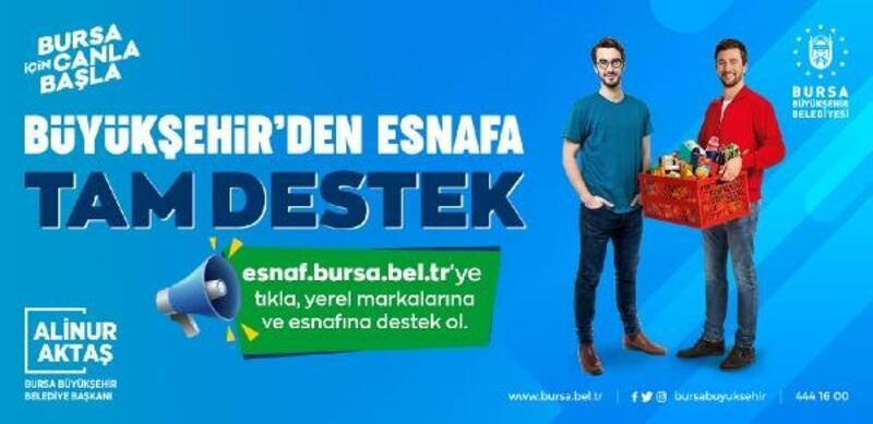 Bursa Büyükşehir Belediyesi, esnaf ve vatandaş arasında köprü oluyor
