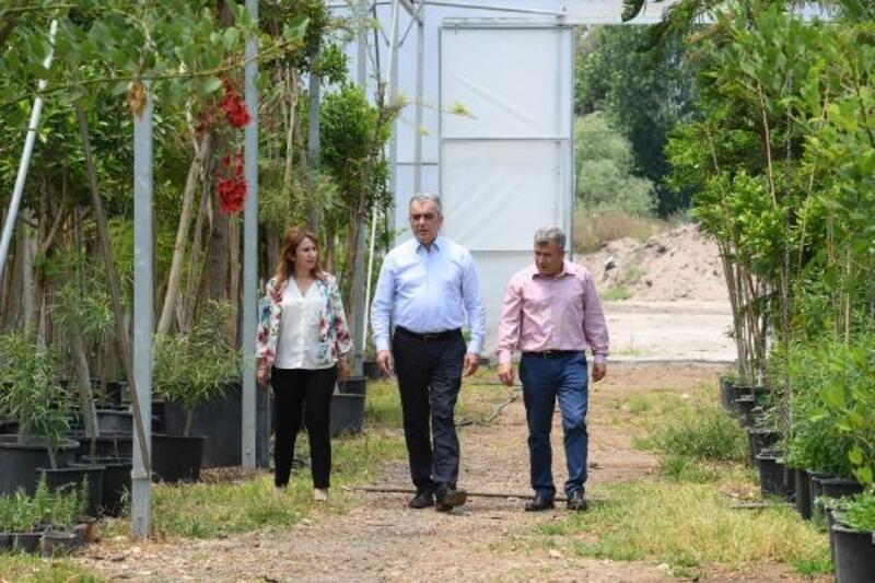Konyaaltı Belediyesi, 2020'de 45 bin metrekare yeşil alan açtı