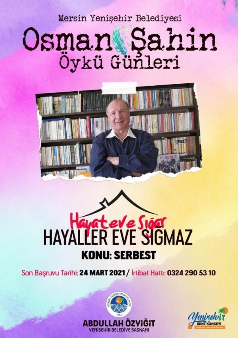 'Osman Şahin Öykü Günleri' için başvurular başladı
