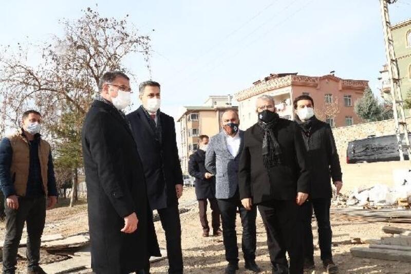 Vali Balcı, spor yatırımlarını inceledi