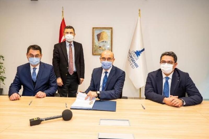 Örnekköy'de üçüncü ve dördüncü etaplar için imzalar atıldı